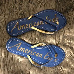 American Eagle flip flops